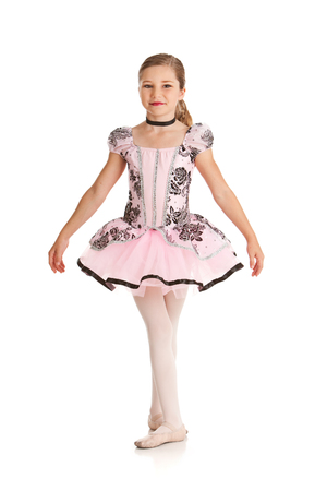 fifth: Young Ballerina Dancer In Fifth Position