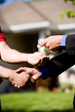 homebuyer: Home: Buyer Gets New Home Keys