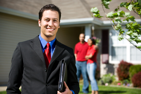 real: Home: Real Estate Agent Ready to Sell Home