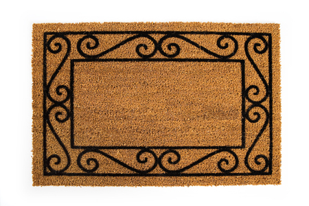 Door Mat: Blank Doormat To Insert Your Own Words