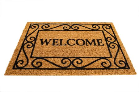 Door Mat: Friendly Welcome Door Mat