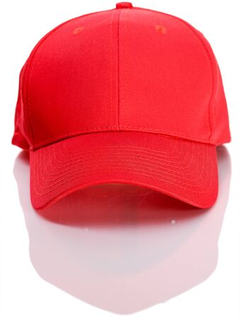 front view: Baseball: Front View of Baseball Cap