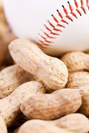 sports shell: Baseball: Baseball and Peanuts