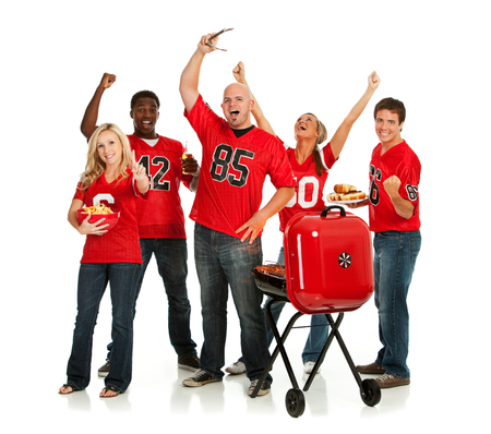 Fans: Fans Have Tailgate Party Before Game