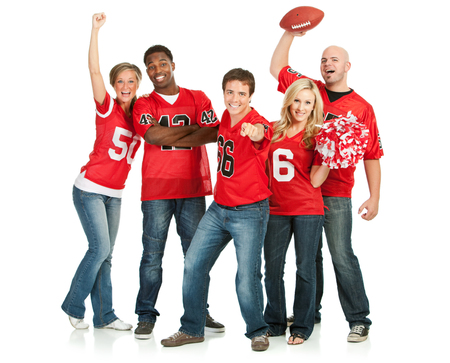 pom: Fans: Fans Cheer for Favorite Team