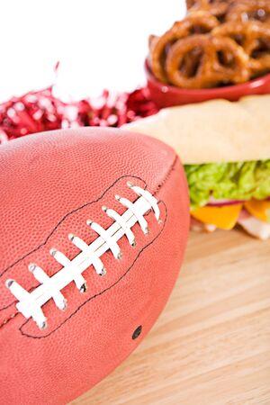 hoagie: Football With Gameday Snacks