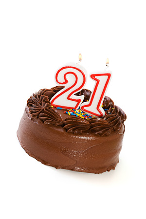Cake: Cake to Celebrate 21st Birthday