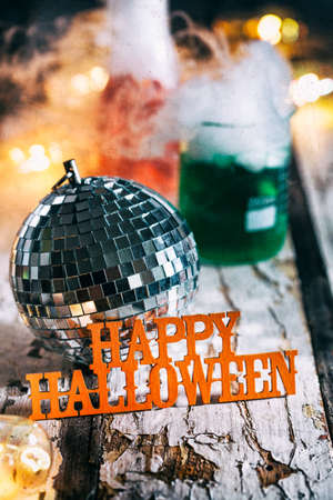 Halloween: Mad Scientist Laboratory Holiday Disco Party