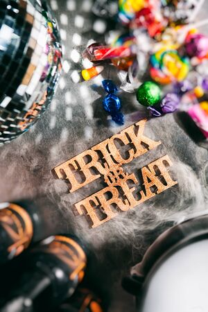 Halloween: Trick Or Treat For Holiday Party Fun Stock Photo