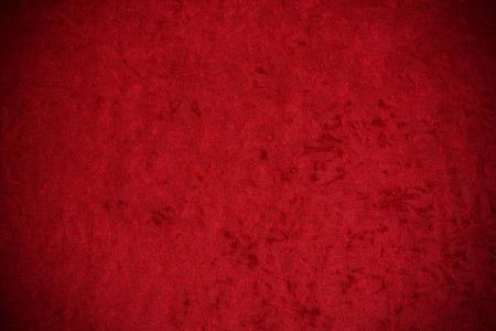 Velvet: Flat Panel de terciopelo rojo machacado Con La Ilustración Leve