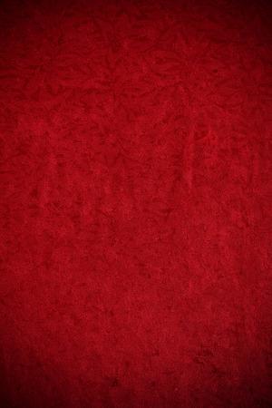 vignette: Velvet: Red Crushed Velvet With Vignette Stock Photo