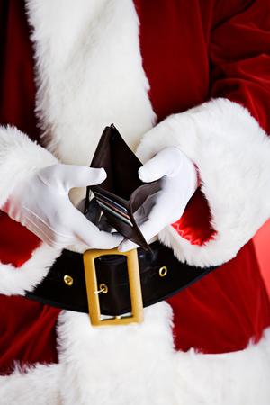 산타 : 빈 지갑 표시