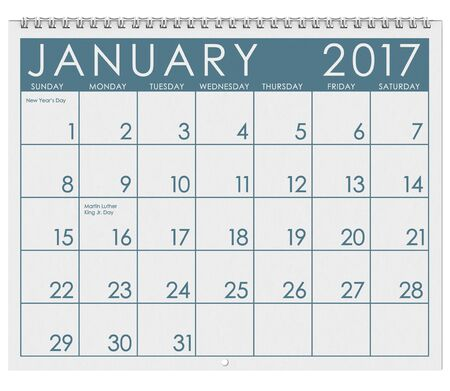 new years day: 2017: Calendar: Month Of January With New Years Day