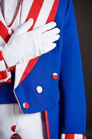 pledge of allegiance: Patriotic: Saying The Pledge Of Allegiance