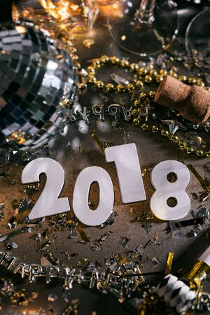 New Year: Overhead View Of 2018 Numbers For NYE