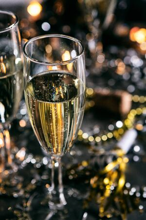 New Year: Bubbly Champagne To Toast The New Year