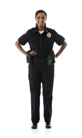 Vaste série de deux policiers sur fond blanc, avec divers accessoires. Comprend également un enfant et un cambrioleur.