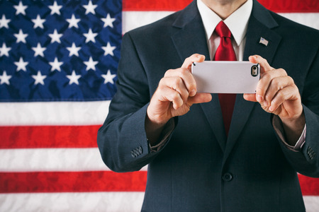 Series with themes reflecting a certain Billionaire politician in the 2016 election process. Stock Photo