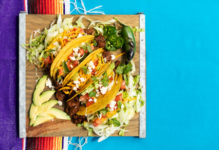 Series featuring United States' take on Mexican food for Cinco De Mayo.