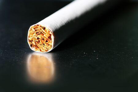 unfiltered: Single cigarettes on a cigarette case