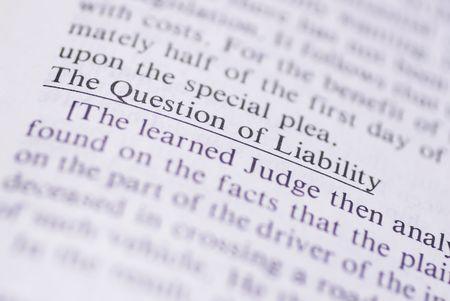Documentos legales y t�rminos  Foto de archivo - 232302