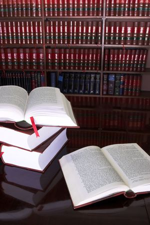 legal court: Legal books on table - South African Law Reports