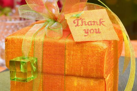 Table gift Stock Photo