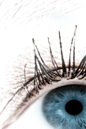 Digital eye - Artwork, not photograph Stock Photo
