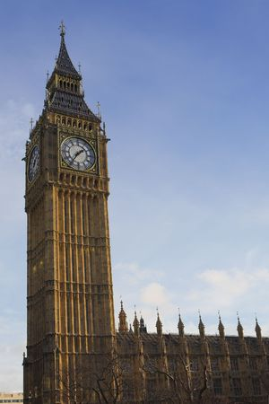 Big Ben in the late afternoon photo