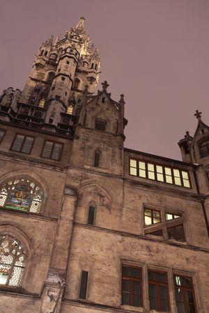 rathaus: The Neues Rathaus in Munich Stock Photo