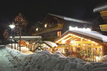 nightscene: Kirchberg, Germany.