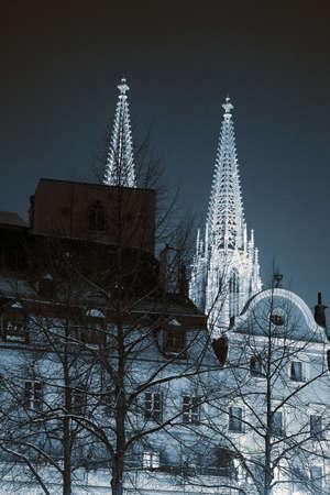 Building in Regensburg photo