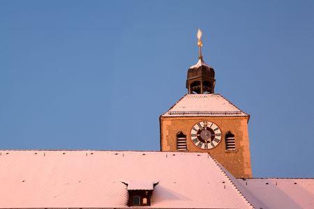 regensburg: Building top in Regensburg
