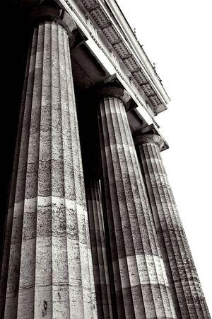 regensburg: Pillars of Regensburg, Germany Stock Photo