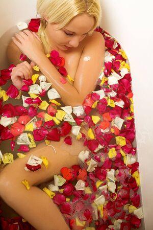 woman in a bath. Stock Photo - 403016