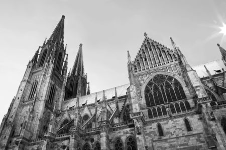 Cathedral in Regensburg, Germany photo