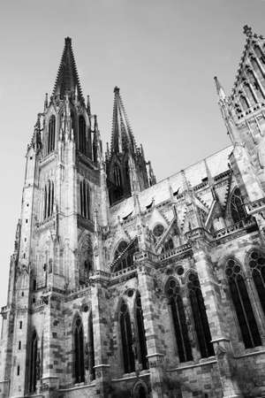 Cathedral in Regensburg photo