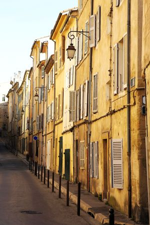 backstreet: A backstreet in Aix-en-Provence, France