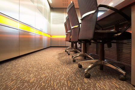 The interior of a modern office photo