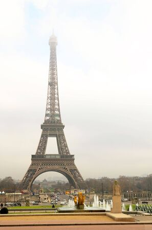 The Eiffel Tower in Paris, France. Stock Photo - 441904