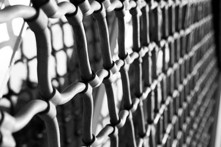 grating: Security Grating - High Key, Grainy