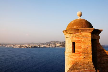 maritimes: The Famous Ile Sainte Marguerite � Island Jail, across from Cannes, France