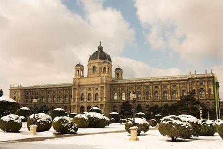 sculpted: Het Museum van Schone Kunsten in Wenen, Oostenrijk