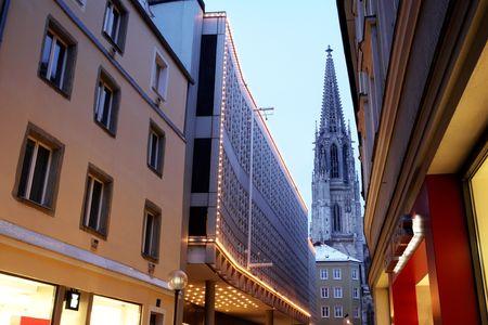 Architecture in Regensburg photo