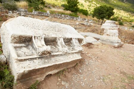 The old ruins of the city of Ephesus in modern day Turkey Stock Photo - 11706101