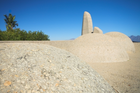 Afrikaans Language Monument in Western Cape, South Africa Stock Photo - 19372839