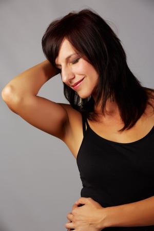 Beautiful and mature adult caucasian woman Stock Photo - 20334556