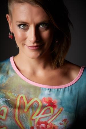 Beautiful young adult blonde caucasian woman Stock Photo - 20334506