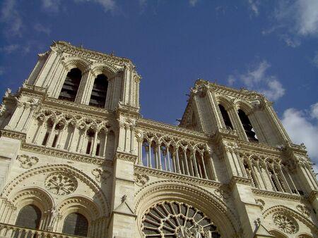 jorobado: Notre Dame, Par�s  Foto de archivo