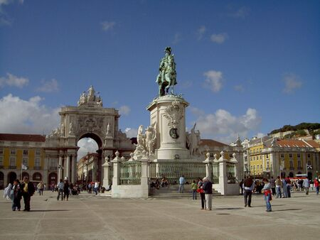 City gate Lisbon